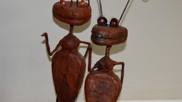 couple de fourmis au powertex
