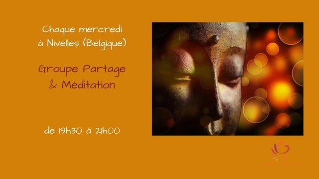 Groupe partage et méditation
