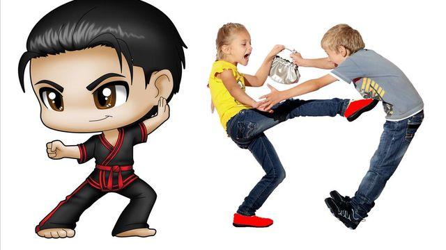 Karaté jitsu défense de rue : Cours kids