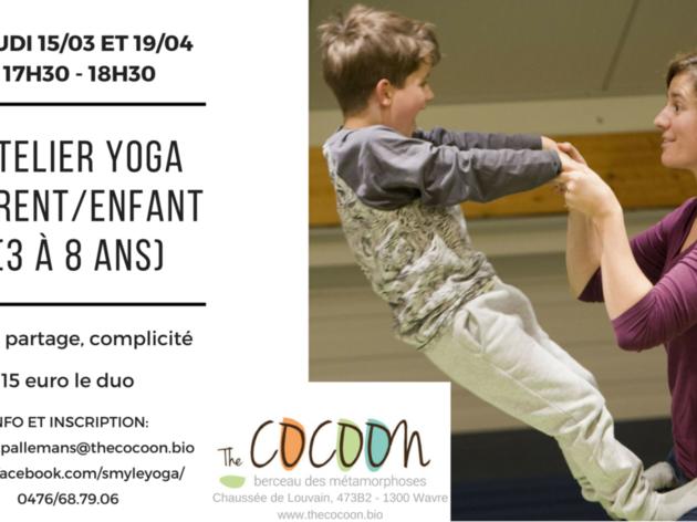 Atelier Yoga parent/enfant (de 3 à 8 ans)