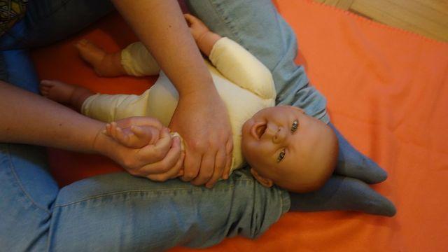 Cours de massage bébé 0-1 an 3x1h