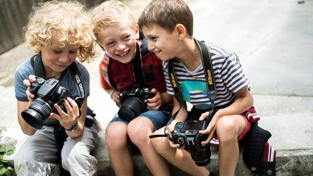 "Stage Photo Enfant ""Le Mini Photographe"" (Août)"