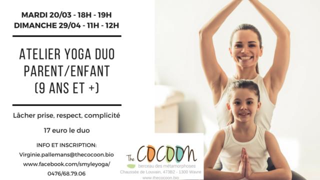 Atelier yoga duo (9 ans et +)