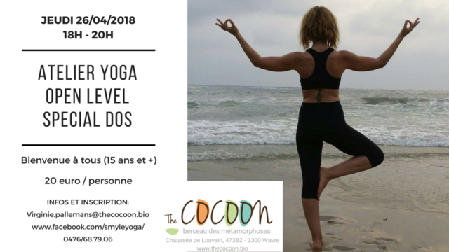 Atelier yoga adulte (+15ans) special dos