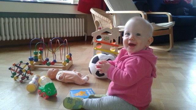 Accompagnement affectif du bébé par le jeu