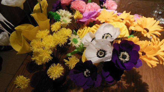 Atelier Art de floral en papier crépon niveau avancé
