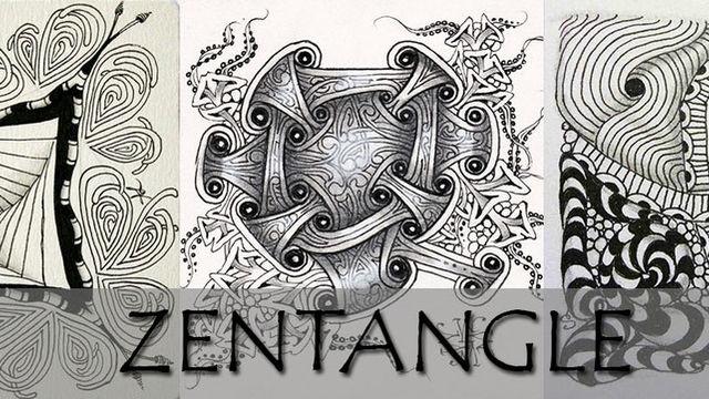 Découverte du Zentangle