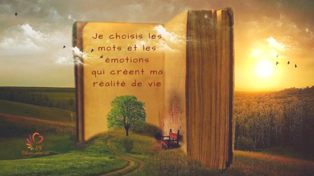 Les mots et les émotions créent votre réalité de vie