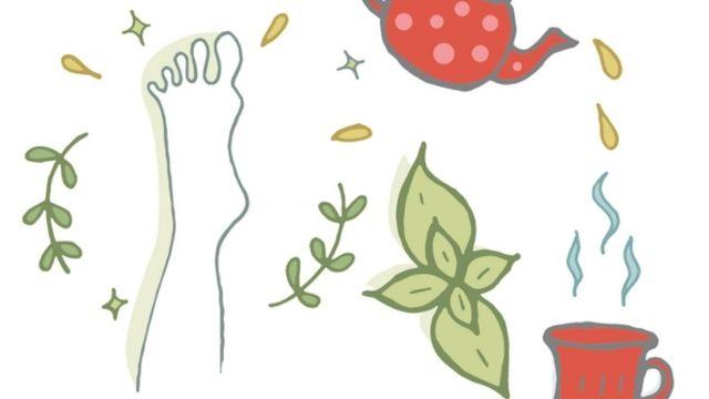 mes tisanes santé : jambes légères