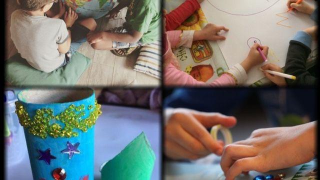 Stage créatif pour enfants de 4 à 8 ans