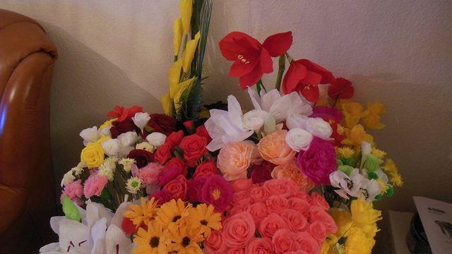 Fleur en papier - Débutant