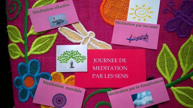 Journée de méditation par les sens