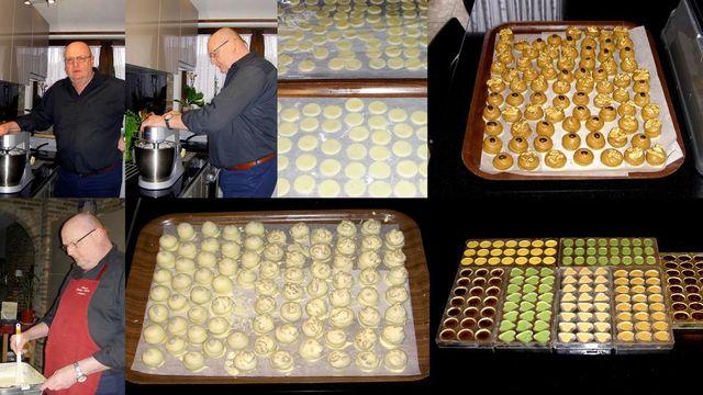Atelier de confiseur-chocolatier