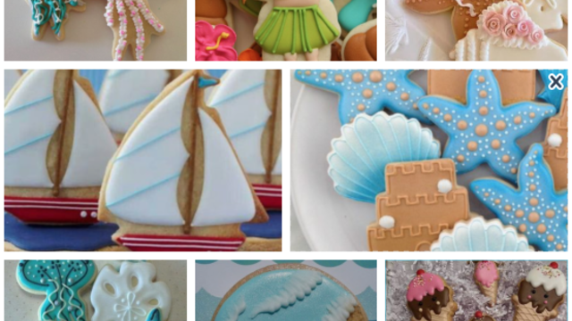 "Maxi Atelier Cookie Decorating : ""Summer & Beachhouse"""
