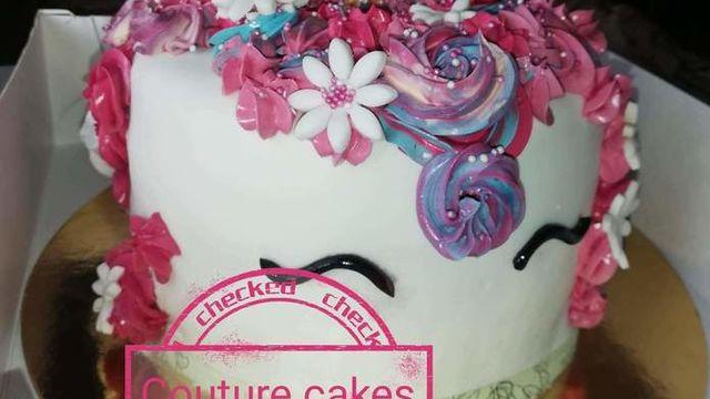 Gâteau licorne Cake Design