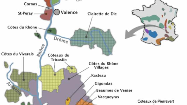 Dégustation découverte des vins de la Vallée du Rhône