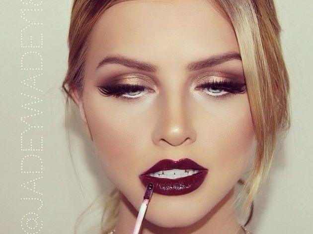 apprendre le maquillage de soirée , workshop make up door francine d