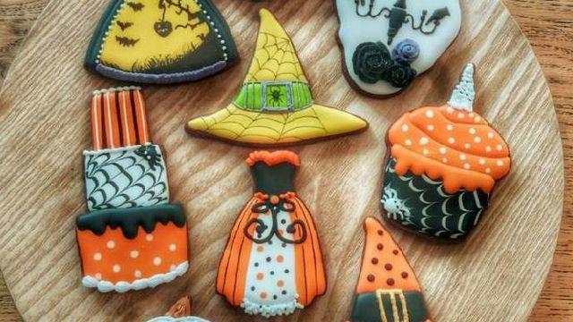 Mini atelier Halloween Romantic Cookie Decorating