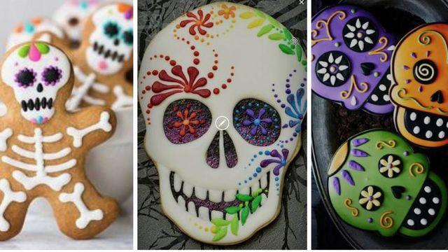 Mini Atelier Calaveritas Dia de Los Muertos Cookie Deco