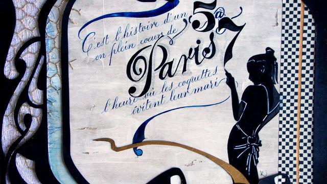 Calligraphie avec Céline Foissey