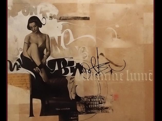 Calligraphie avec Laurent Pflughaupt