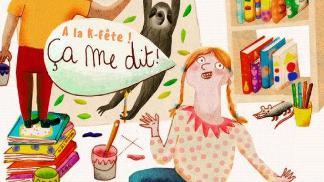 Atelier créatif du mercredi à la K-Fête