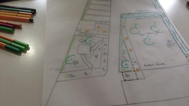 Apprendre à dessiner son Jardin