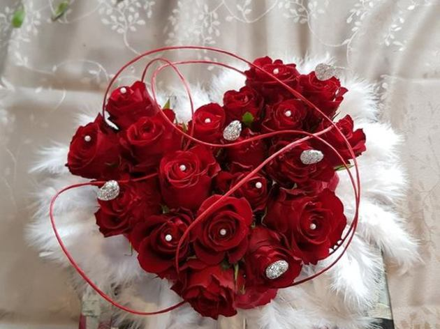 le coeur de Saint Valentin Atelier 4 mains