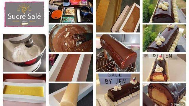 Atelier : la bûche chocolatée avec insert à la vanille