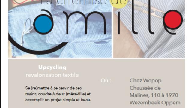 """Atelier couture """"mère-fille"""" le 9 décembre chez Wopop!"""
