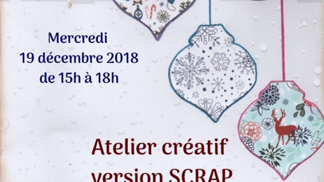 "Déco de table et cadeau """"version Scrap"""