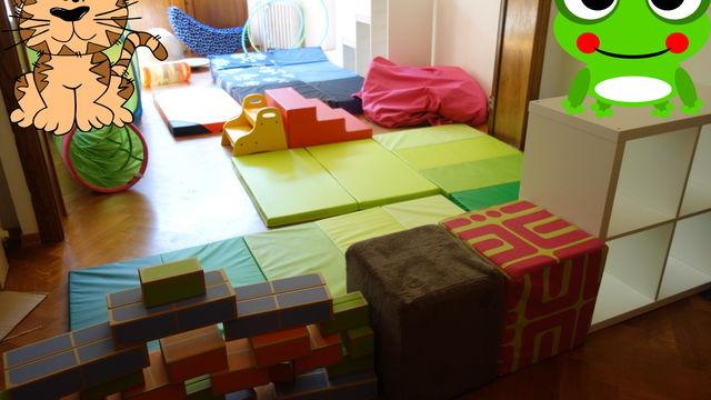 Vacances: psychomotricité parent-enfant: tous ensemble