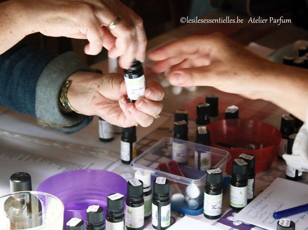 cr er son propre parfum aux huiles essentielles atelier cosm tique naturel par dominique prime. Black Bedroom Furniture Sets. Home Design Ideas