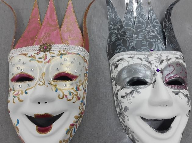 Décoration Masque de carnaval