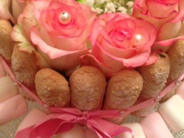 Charlotte aux fleurs, un délice que pour les yeux