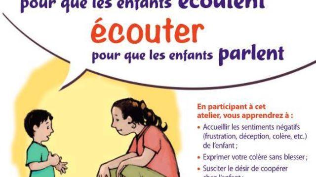"""Communication Parents-Enfants """"Faber et Mazlish"""""""