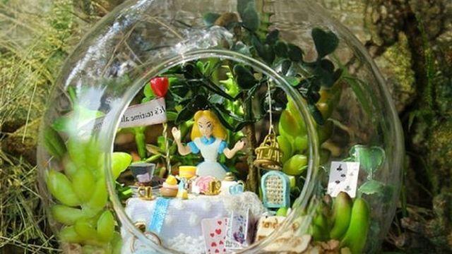 Jardin miniature thèmes Mon voisin Totoro ou Disney