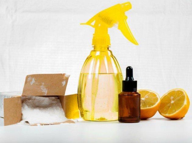 Fabriquez vos produits d'entretien naturels