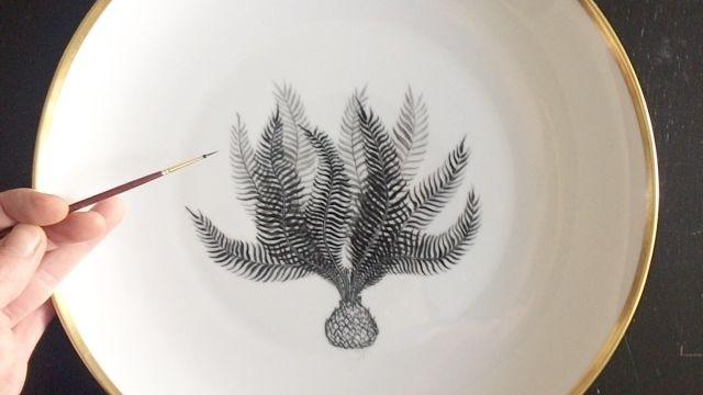 Workshop de peinture sur porcelaine