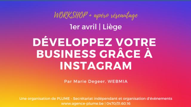 Développez votre business grâce à Instagram