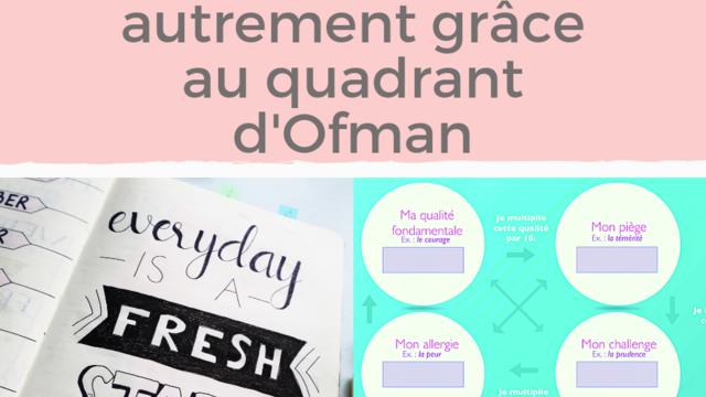A la découverte de soi grâce au quadrant d'Ofman