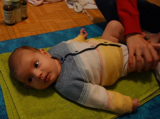 Cours de massage bébé (0-1 an)