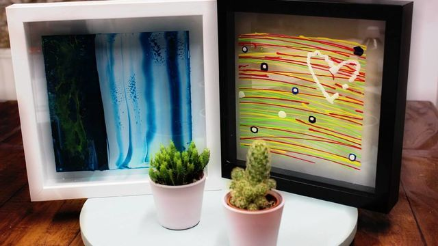 Initiation à la peinture acrylique sur plexiglas