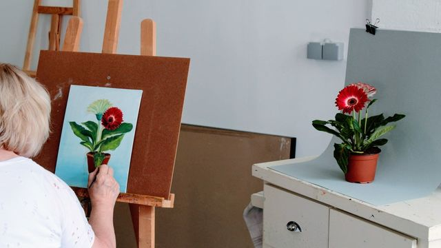Peindre à l'huile comme les Maîtres