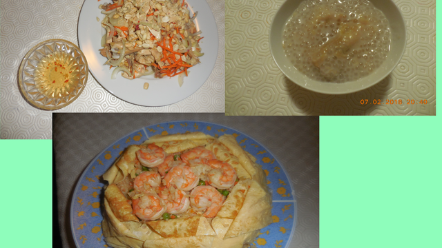 Cuisine Vietnamienne menu pour couple