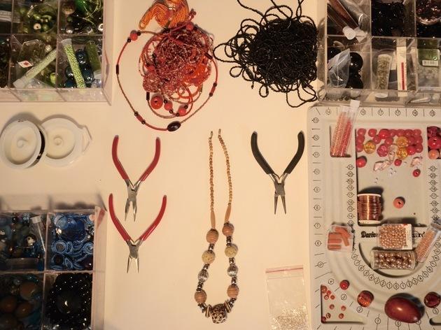 Atelier bijou en mode récup