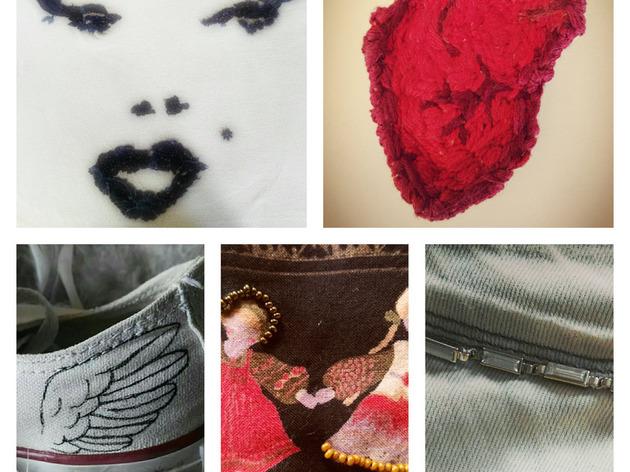 Customisation de vêtements - initiation couture - DIY
