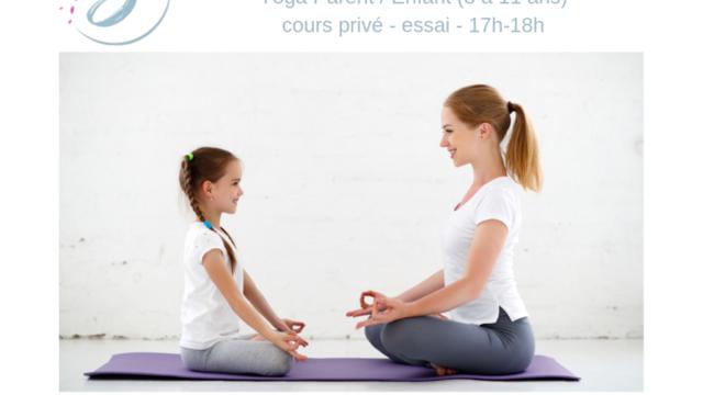 4 cours d'essai privé Yoga Parent/ Enfant ( 8-11 ans)