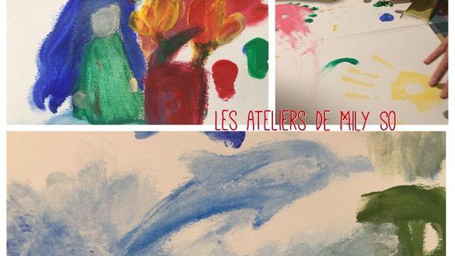 Peinture à doigts: reconnexion avec l'enfant intérieur