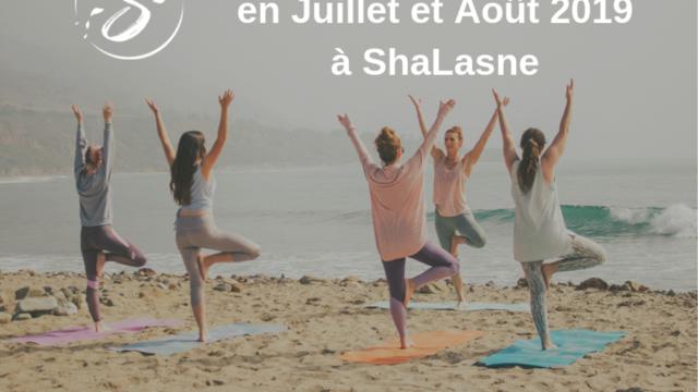 5 matinées d'été Yoga à ShaLasne - Plancenoit